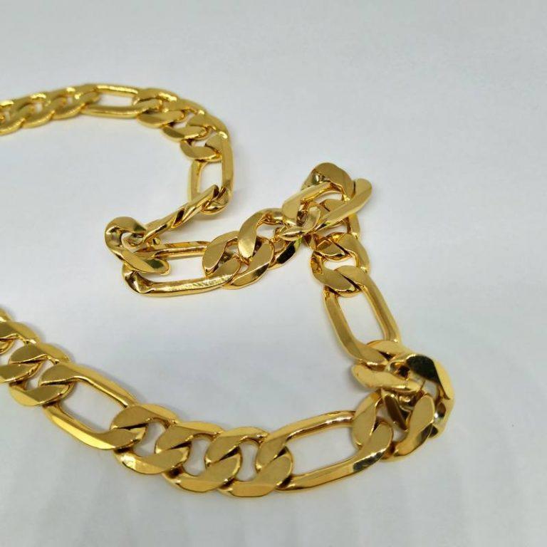 Lắc nam mạ vàng mắc xích basic giá rẻ HCM