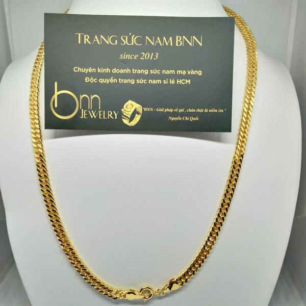 Dây chuyền nam xi vàng rẻ 24k giá rẻ tại TPHCM