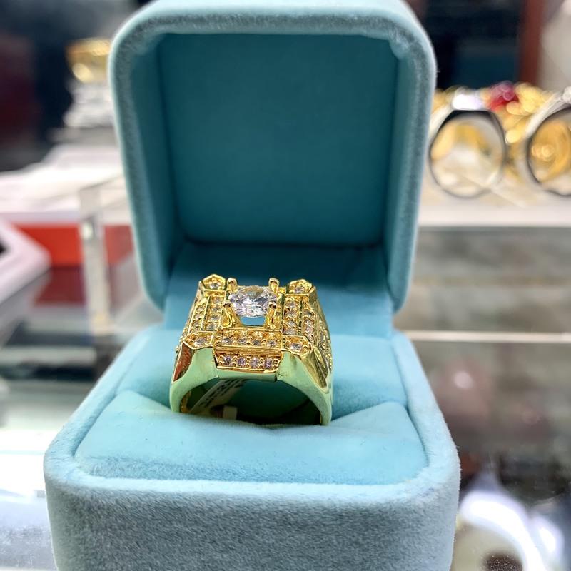 Nhẫn xoàn nam mạ vàng 18k đẹp giá rẻ Trang sức BNN