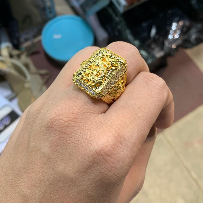 Nhẫn rồng mạ vàng đính xoàn cho nam Trang sức BNN