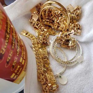 Keo nano trang sức vàng bạc