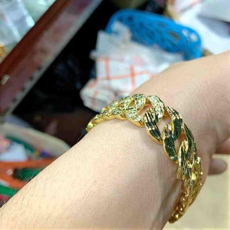mua lắc tay nam mạ vàng ở đâu uy tín