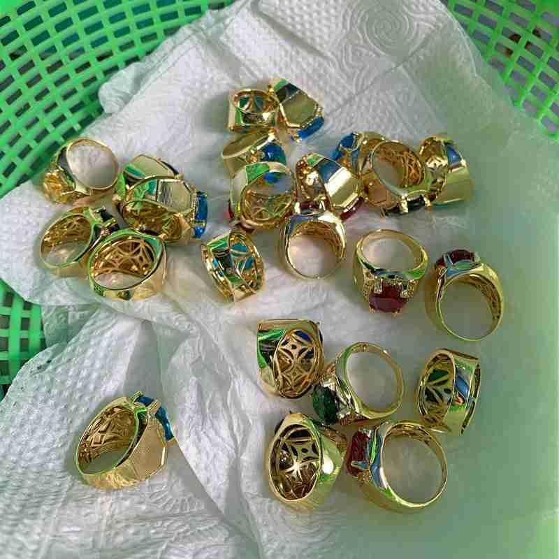 Nơi xi mạ vàng trang sức nữ trang HCM : Nhẫn , dây chuyền , lắc nam nữ