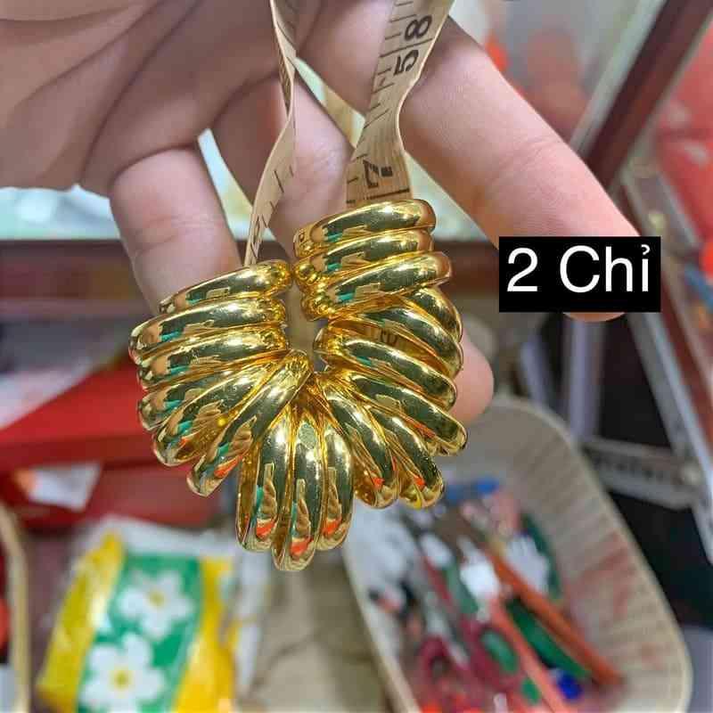 nhẫn trơn 2 chỉ mạ vàng 24k 9999 nhẫn cưới mạ vàng 1 chỉ 5 chỉ 3 chỉ tphcm